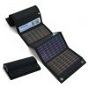 USB+AA Solar Charger BLACK